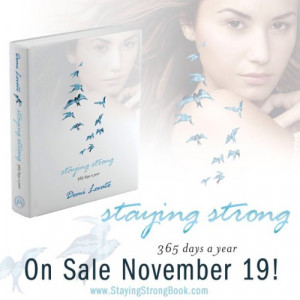 Demi Lovato Unveils Her New Book 'Staying Strong: 365 Days a Year'