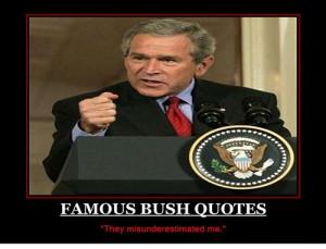 stupid stupid president bush
