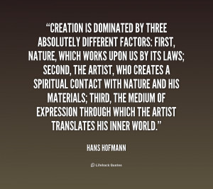 Quotes About Creation