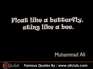 15 most famous # quotes by muhammad ali