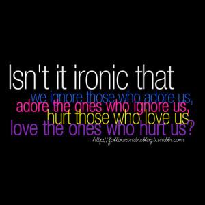 Ironic Quotes
