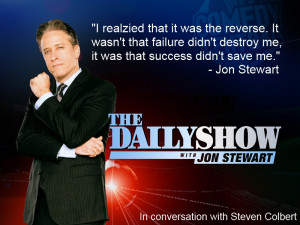 Quote from Jon Stewart from