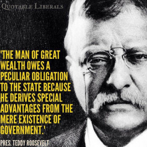 Teddy Roosevelt quote. I do love Teddy.