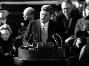 10. Inauguration Address by John F Kennedy