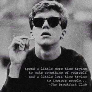 Breakfast Club quote-