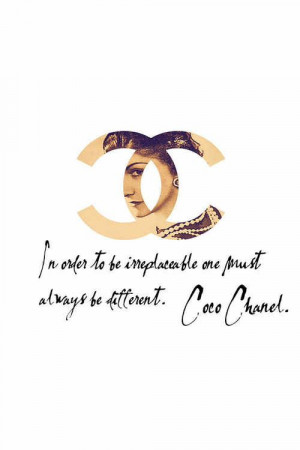 fashion#icon#style#quotes Coco Chanel Quotes, Inspiration Iphone ...