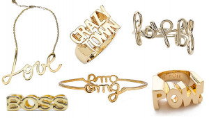... Forget Sweatshirts And Tees, The Latest Graphic Trend Is Jewelry