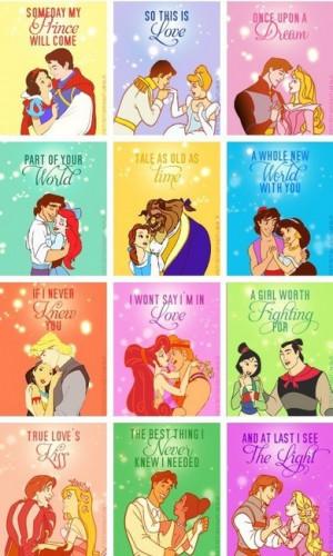 Disney Princess Disney Princess Couples