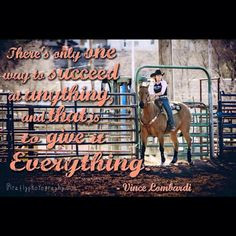 Barrel racing quote with Tilly Jenski More
