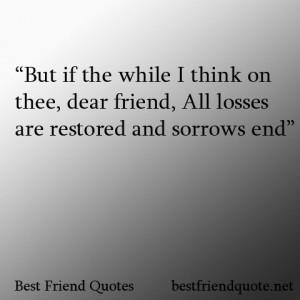 Best Friend Quotes William Shakespeare Best Friend Quotes