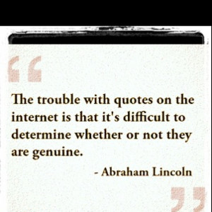 The trouble with quotes