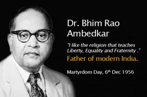 Martyrdom Day – Dr. Bhim Rao Ambedkar