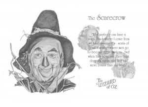 Wizard of Oz Scarecrow Quotes