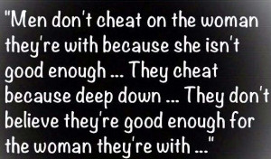 Why Do Men Cheat Quotes
