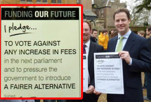 Nick Clegg sums up all that is bad about British politics