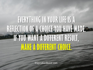 Life Choice Quotes