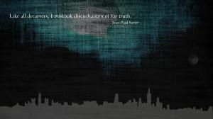 Jean-Paul Sartre quote HD Wallpaper 1920x1080 Jean-Paul Sartre quote ...
