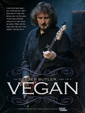 Geezer Butler's Vegetarian Testimonial