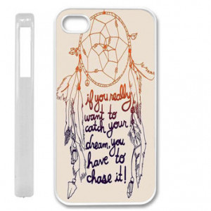 Apple iPhone 5 5G Dream Catcher Quote Case Faceplate Mobile Phone ...