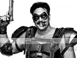 Watchmen - The Comedian B/W G1 Wallpaper