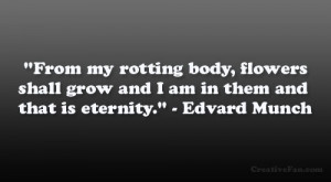 Edvard Munch Quote