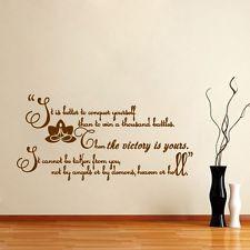 Buddha Quote Wall Vinyl Decal Sticker Art Interior Home Decor Room ...