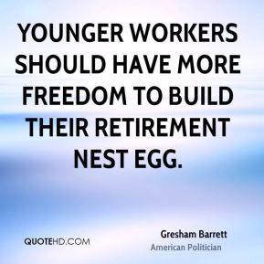 Younger workers should have more freedom to build their retirement ...