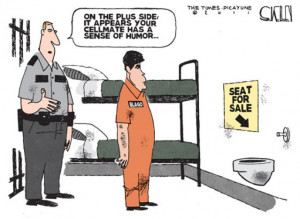 blagojevich in prison cartoon