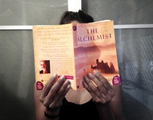 Charlene Barry Reading The Alchemist Paulo Coelho Quotes