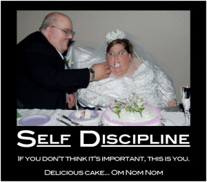 Self discipline is more important than anything else when it comes to ...