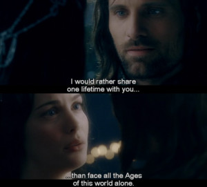 ... Together In Lord Of The Rings Fellowship Of The Ring Picture Quotes
