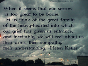 Famous Quotes About Mourning Death ~ Famous quotes about 'Grief ...