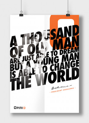 Bold Quotes Posters Featuring Great Leaders6