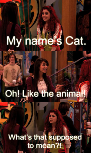 cat valentine quotes from victorious