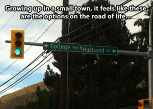 funny small town street signs
