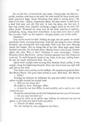 Annotations James Joyce