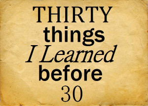 Things I Have Learned Quotes