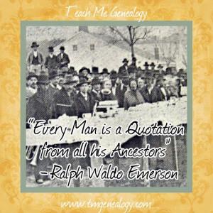 Teach Genealogy Quotes