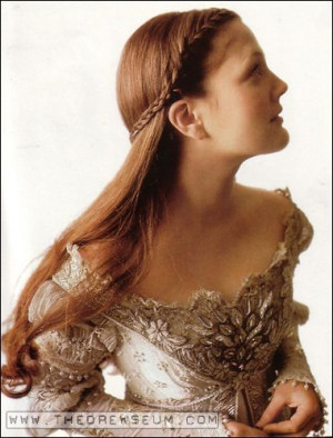 ... , Braids Half, Wedding Hairs, Hair Style, Pretty Hair, Drew Barrymore
