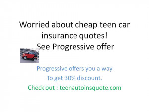about cheap teen car insurance quotes 300x225 Worried about cheap ...