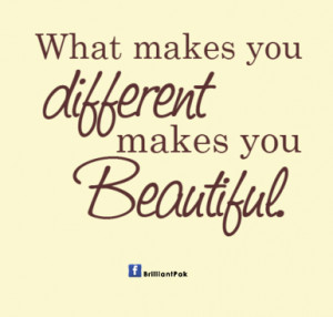 being different is beautiful quotes