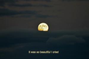 cry, dark, full moon, moon, movie, quote, sad, wolf