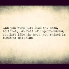 ... , life, heart, diamond, dark, inspir, shine bright, moon quotes, live