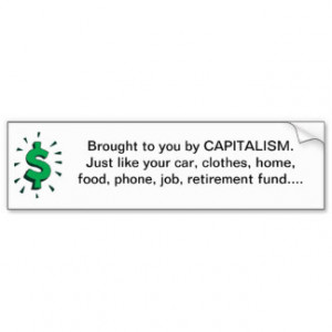 Pro Capitalism Gifts - Shirts, Posters, Art, & more Gift Ideas