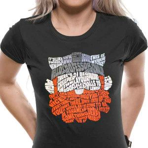 Yogscast (Honeydew Quotes) Ladies Rolled Sleeve T-Shirt