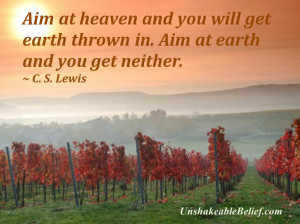 Inspirational-Life-Quotes - Heaven - Lewis