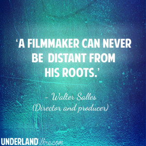 Walter Salles on Roots