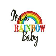 Rainbow Baby--Rainbow of Hope--Miscarriage--Fertility- Rainbow Baby ...