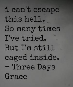 Description: Three Days Grace quotes ♥