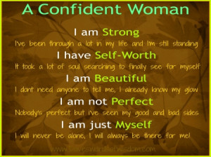 Back > Gallery For > Confident Women Quotes